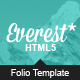 Free Download Everest – Responsive Portfolio HTML5 Template