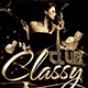 Classy Club Flyer - GraphicRiver Item for Sale