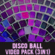 Disco Ball Video Pack - VideoHive Item for Sale