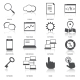 Search Engine Optimization Icons Set - GraphicRiver Item for Sale