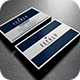 Simple Blue Business Card - GraphicRiver Item for Sale