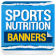 Banners for Sports Nutrition - GraphicRiver Item for Sale