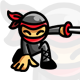 App Ninja - Ninja Mascot / Character Logo - GraphicRiver Item for Sale