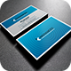 Clean Blue Business Card - GraphicRiver Item for Sale