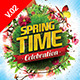 Spring Celebration Flyer Template V.02 - GraphicRiver Item for Sale