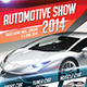 Automotive Show Flyer - GraphicRiver Item for Sale