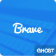 Brave responsive ghost theme - ThemeForest Item for Sale