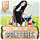 Spring Break - Flyer - GraphicRiver Item for Sale