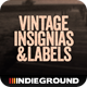 Vintage Insignias & Labels - GraphicRiver Item for Sale