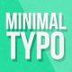 Minimal Typography Pack - VideoHive Item for Sale