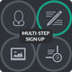 Multi-Step Sign Up Forms - GraphicRiver Item for Sale