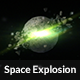 Space Explosion Logo Reveal - VideoHive Item for Sale