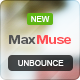 MaxMuse - Unbounce - ThemeForest Item for Sale