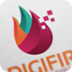 Digifire Logo Template - GraphicRiver Item for Sale