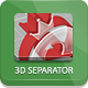3D Separator - Photoshop Actions - GraphicRiver Item for Sale
