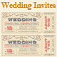 Weddiing Invites - GraphicRiver Item for Sale