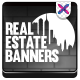 Real Estate Banner Set - GraphicRiver Item for Sale