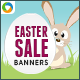 Easter Sale Banners - GraphicRiver Item for Sale