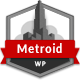 Metroid Responsive vCard - WordPress