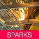 Angle Grinder With Sparks - VideoHive Item for Sale