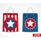 Set of Star Shopping Bags - GraphicRiver Item for Sale