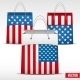 Set of Shopping Bags with USA Flag - GraphicRiver Item for Sale