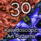 Kaleidoscopic Art Patterns 2 - GraphicRiver Item for Sale