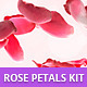 Rose Petals Background Construction kit - GraphicRiver Item for Sale
