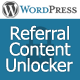 WordPress Referral Content Unlock - CodeCanyon Item for Sale