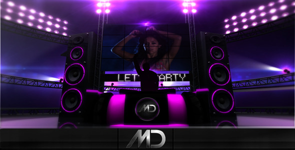 After Effects Project - VideoHive Purple Party 233549