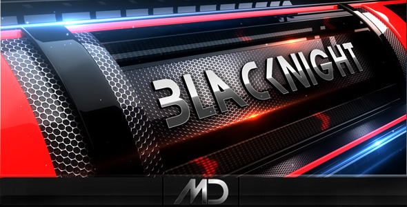 After Effects Project - VideoHive BlacKnight 163904