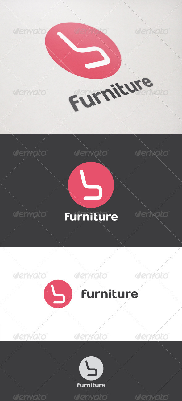 Graphic River Furniture Design Logo Templates -  Objects 752022
