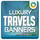 Luxury Vacation Banner Set - GraphicRiver Item for Sale