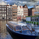Old Town of Amsterdam in Netherlands - PhotoDune Item for Sale