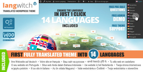 ThemeForest Langwitch Fully Translated to 14 Languages 7170850