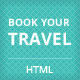 Book Your Travel - Online Booking HTML Template - ThemeForest Item for Sale