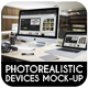 Photorealistic Devices Mock-Up - GraphicRiver Item for Sale