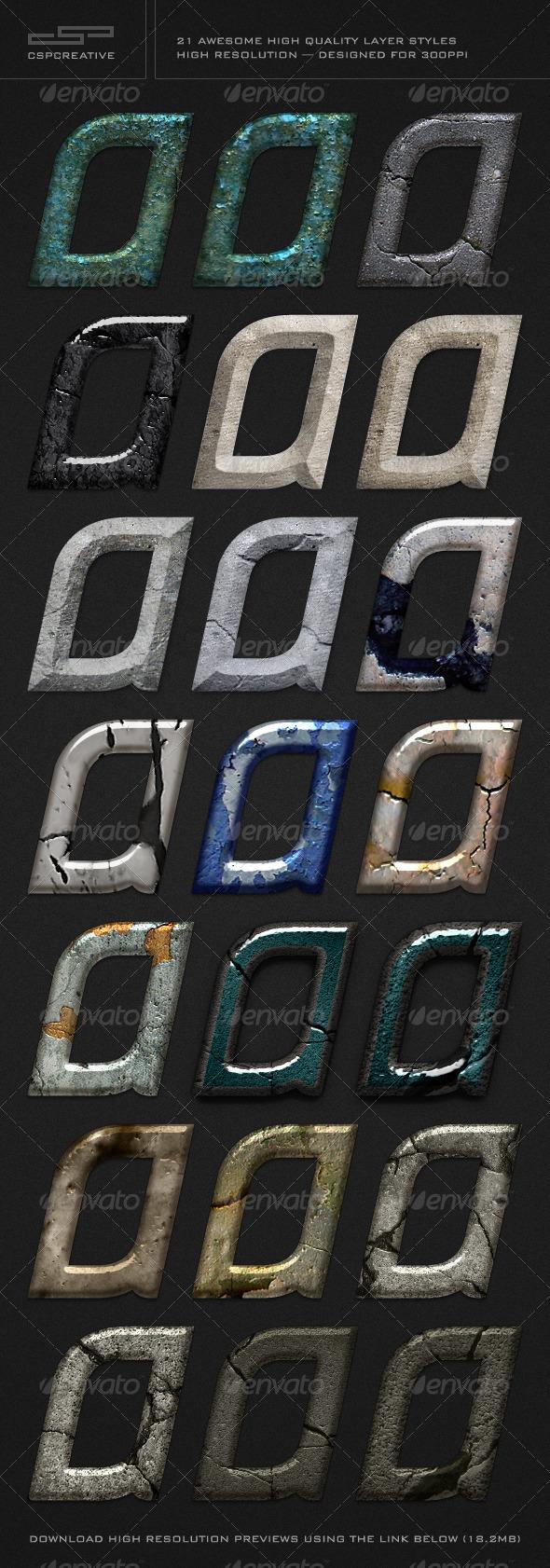 GraphicRiver CSP Creative Styles Bundle 2 752505