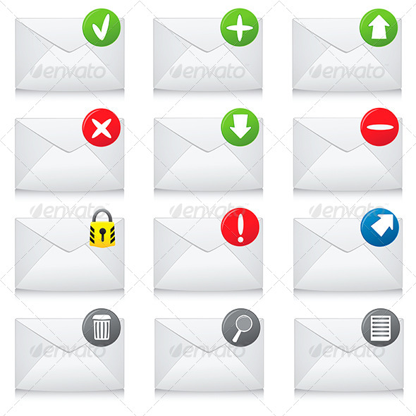 GraphicRiver Email Icons 7176874