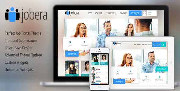 ThemeForest Jobera Job Portal WordPress Theme 7177103