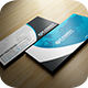 Blue Corporate Business Card - GraphicRiver Item for Sale