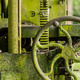 Moss covered farm machinery with handle - PhotoDune Item for Sale