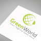 Green World Logo Template - GraphicRiver Item for Sale