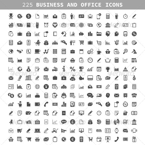 GraphicRiver Business an Icon 7181809