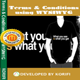 Free Download Terms & Conditions using WYSIWYG