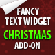 Christmas add-on for Fancy Text Widget - CodeCanyon Item for Sale