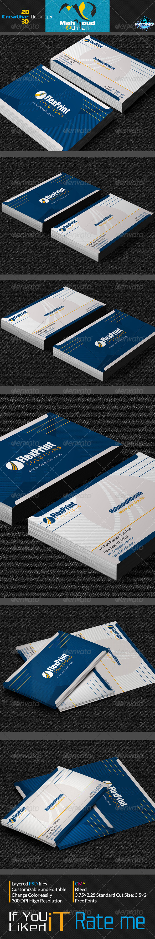 GraphicRiver Creative Business Card V08 7185099