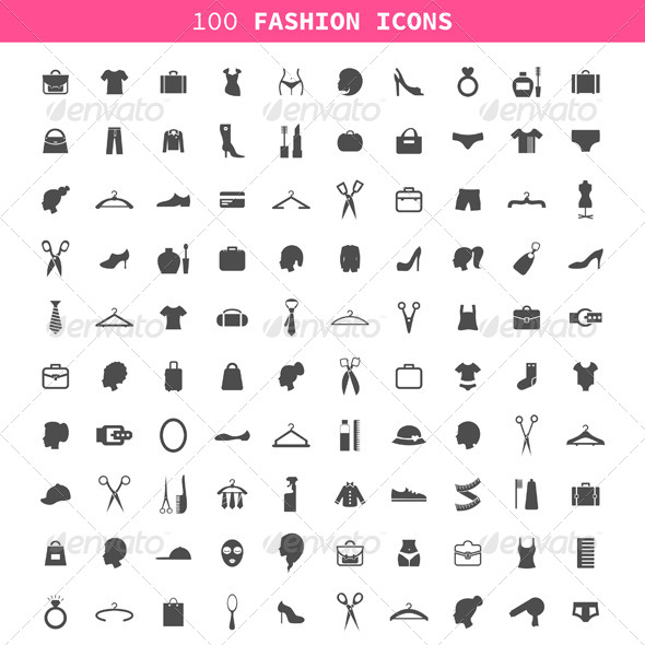 GraphicRiver Fashion an Icon 7185431