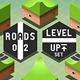 Isometric Roads on Two Levels Terrain - GraphicRiver Item for Sale