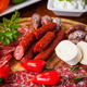 Antipasti and catering platter - PhotoDune Item for Sale